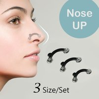 Wholesale 18PCS Set Size Beauty Nose Up Lifting Bridge Shaper Massage Tool No Pain Nose Shaping Clip Clipper Women Girl Massager