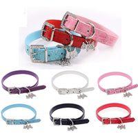 alligator dog collar - Hot Sale Alligator Pattern Pet Collar YJY Fashion Dog Collar PU Leather Cat Collar Pet Supplies