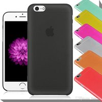 Wholesale Casing Iphone 4s Transparent - 0.3mm Ultra Thin Slim Matte Frosted Transparent Clear Flexible Soft PP Cover Case Skin For iPhone 7 6 6S Plus 4.7 5.5 inch 5S 5 4 4S 100pcs