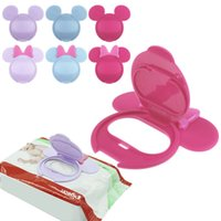 baby wipes cover - Infant Baby Wet Wipes Cover Cute Reusable Flip Mount Lid for Wet Paper