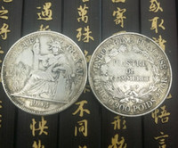 Wholesale avatar cent coin cc copy copper plated silver art collection gift gold coin for