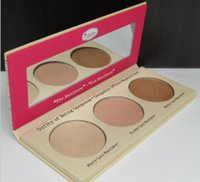Wholesale Hot sale Hot The Balm the Manizer Sisters three color high light combination plate repair capacity WK