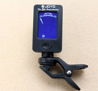 Wholesale JOYO Guitar Bass Tuner JT Mini LCD Clip on Degree Rotatable guitar Tuners machines for Guitar Bass Violin Ukulele