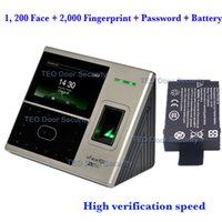 Wholesale DHL Shipping face and fingerprint templates ZKTeco uFace800 BioEntry iFace Face Recognition Machine High Verification Speed
