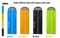 Wholesale Sleeping bag outdoor light outdoor camping thick warm adult indoor four seasons autumn and winter sleeping bag Thickening