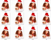 baseball christmas decorations - Fashion Christmas Caps Baseball Christmas Santa Claus Hats Christmas Gifts Decoration Cheapest christmas santa claus cap