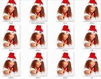 baseball cloth - Fashion Christmas Caps Baseball Christmas Santa Claus Hats Christmas Gifts Decoration Cheapest christmas santa claus cap