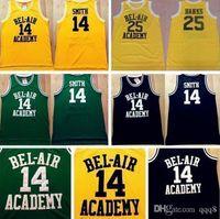 academy bank - Top Quality New Men Jerseys Bel Air Academy Jerseys Will Smith Carlton Banks Rev Jerseys Embroidery Logo Mix Order