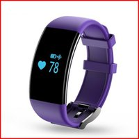Wholesale Heart Rate Monitor Waterproof Smart Wristband Bracelet D21 Fitness Tracker Swim Band Sport Smart band for Android iOS