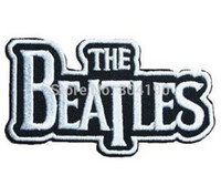 beatles patches - 3 quot THE BEATLES Music Band Punk Rock Embroidered NEW IRON ON and SEW ON Patch Heavy Metal applique dropship