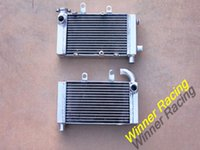 Wholesale L R aluminum radiator For Honda Super Hawk VTR1000F V Twin item for high performance engine cooling