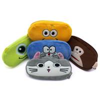 achat en gros de concepteur de poche zippée-Hot New Children Square Card Holders Lovely Zipper Pouch Kids Designer Coin Purse High Fashion Mini Portefeuille