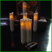 battery candle church - Eco Friendly Plastic LED Light candle lamp cm Tall Church Candles with Battery White Tall Stick Candle Emergency