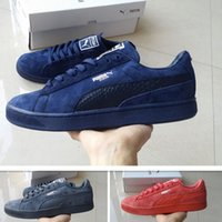bboy style - 2017 Price Puma Running Shoes For Men Women Sneakers New Style Suede Classic Bboy Athletic Sport Shoes Size