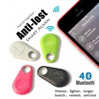 bag tags kids - Smart Finder Bluetooth GPS Tracker Wallet Bag Key Finder Kids Pets Tag GPS Locator Alarm for Iphone Android