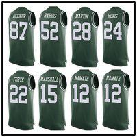 Wholesale 15 Brandon Marshall Matt Forte is Darrelle Revis Eric Decker Joe Namath limited edition vest