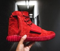 Wholesale 2017 New Adidas Yeezy Boost Red Air Kanye West Yeezy Boosts Boost Fashion Men Women Basketball Shoes Sports Yeezys Running Shoes
