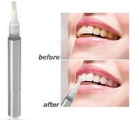 Wholesale White Tooth Cleaning Bleaching Dental Professional Kit Teeth Whitening Gel Pen Tooth Gel Whitener Bleach Remove Stains oral hygiene White