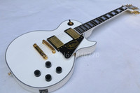 Wholesale High quality custom shop Les guitar white rosewood fretboard supreme Paul electric guitar Golden hardware