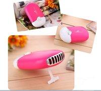 aluminium mosquito net - 2016 Hot sales mini charging small fan summer electric fan palm air conditioning outdoor handheld bag portable fan