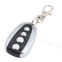 Venta al por mayor- Duplicador de control remoto inalámbrico clave de puerta de garaje clonación puerta 315 / 433MHZ