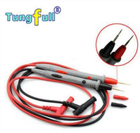 Wholesale High Quality Copper materials pairs copper wires Test Lead Wire especial tip Probe Cable for Multimeter A801 long tips