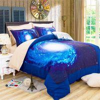 Wholesale 3D Star cool Home Textiles four piece sanding bedding