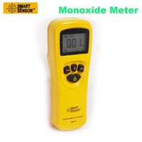 Vente en gros- SMART SENSOR AR8700A Monoxyde de carbone numérique Moniteur de CO Analyseur de détecteur de fuite de gaz