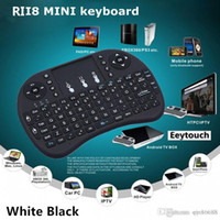 batteries optical mouse - 20 G Touch Fly Air Mouse chargeable battery USB Cable Black and White Portable G Rii Mini i8 Wireless Keyboard Mouse Combo Touchpad PC