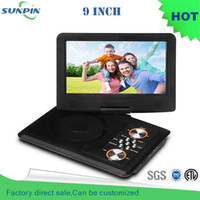 Wholesale Direct Selling Dvd Portatil Porta Cd Inch Portable Dvd Player Support For Sd Ms Mmc Card