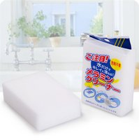 Wholesale 100pcs x62x20mm Grey Magic Sponge Cleaner Eraser Melamine Cleaner Multi functional Sponge for Cleaning