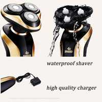 Wholesale F9001 men shaving machine nose trimmer barbeador in washable rechargeable electric shaver D beard shaver razor