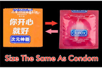 Wholesale Funny Condom Shape Wet Tissue Clean Skin dating Fashion party Funny Sexy gift Toy Young Gift Creative Artifact trick tool