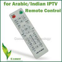 Vente en gros-Livraison gratuite Télécommande pour arabe / Indien IPTV Box, télécommande IPTV arabe