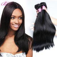 Wholesale BD Silky Straight Human Hair Extension Brazilian Virgin Hair Bundles One Set Human Hair Dhgate Link