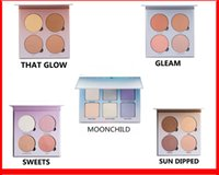 Wholesale HOT Glow Kit Makeup Face Blush Powder Blusher Palette Cosmetic Shades Gleam That Glow Sun Dipped Sweets Moon Child