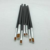 Wholesale Hot Selling Nail Print Pen Acrylic Nail Brush Kit Art Set UV Gel Brush Nail Art Sizes