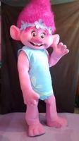 Wholesale New Mascot Costume Trolls Mascot Parade Quality Clowns Birthdays Troll