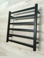 Wholesale Square Heated Towel Rail Stainless Steel Chrome Bathroom Ladder Rack Bar