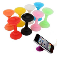 Wholesale New products hot sale cheap quality Silicone Double Sided Suction Cup Phone Holder Sucker Stand For Cell Phones
