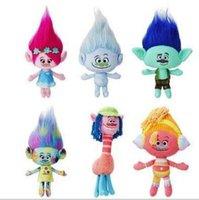 best good luck - Trolls Plush Toy Poppy Branch Dream Works Kawaii Stuffed Dolls The Good Luck Trolls Toy For Children Best Gift b601