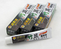 Wholesale DHL fast ship black bamboo charcoal toothpaste New Bamboo Toothpaste Charcoal All purpose Teeth Whitening Black Toothpaste