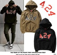 couples sweater - KANYE WEST Men and women casual hooded sweater Fashion Printed Hoodie Outdoor sports couple Hoodies sweatshirt