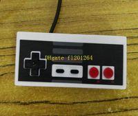 Wholesale 50pcs Classic USB Controller Gaming Gamer JoyStick Joypad For NES Windows PC for MAC Computer Game Controller Gamepad
