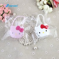 Wholesale Bottle cover Kitty Lovely Mini Cup Set Pink white cm cm cm