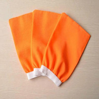 Cheap Wholesale-Free Delivery Take a shower towel Cuozao towel rub mud bath gloves bath sponge bath brush tight mouth double-sided single-layer
