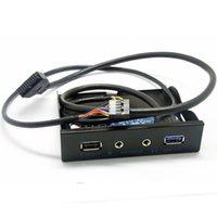 20Pin USB 3.0 концентратор + 2.1A тока зарядки + HD Audio Mic Разъем для передней панели