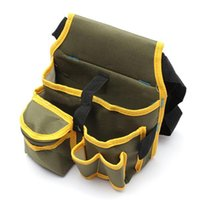 Wholesale Durable Hardware Mechanic s Electrician Canvas Tool Bag Utility Pocket Pouch Bags Cases