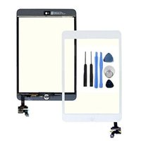 Wholesale Touch Glass Digitizer Screen IC Connector Replacement For iPad Mini White