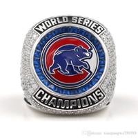 Compra Championship ring-Chicago CUBS Campeonato mundial de béisbol Campeonato Tamaño del anillo 8 - 14 2016